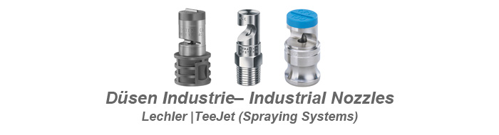 Nozzles for industrial usages