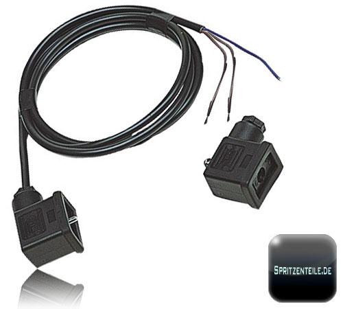 kabel und stecker f r elektro ventile online kaufen. Black Bedroom Furniture Sets. Home Design Ideas